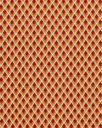Schumacher Fabric Hammerick Diamond Clay Fabric