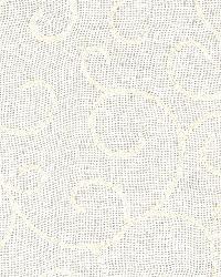 Schumacher Fabric Adina Sheer Embroidery Cream Fabric