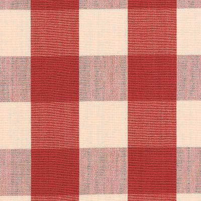 Schumacher Fabric CAMDEN COTTON CHECK RED Search Results