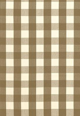 Schumacher Fabric CAMDEN COTTON CHECK MOCHA Search Results