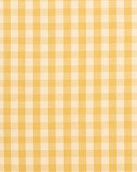 Schumacher Fabric Elton Cotton Check Straw Fabric