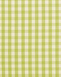 Schumacher Fabric Elton Cotton Check Pear Fabric