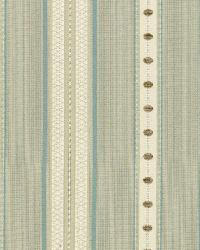 Schumacher Fabric Francesca Stripe Moonstone Fabric