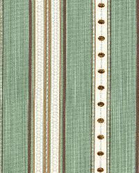 Schumacher Fabric Francesca Stripe Aqua Fabric