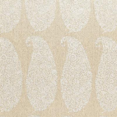 Schumacher Fabric MAXIME LINEN PAISLEY NATURAL Search Results