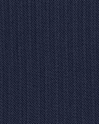 Schumacher Fabric Paloma Herringbone Navy Fabric