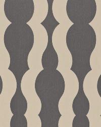 Schumacher Fabric Villeroux Weave Charcoal Fabric