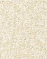Schumacher Fabric Montisi Linen Damask Buttermilk Fabric