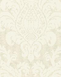 Schumacher Fabric Firenze Linen Damask Oat Fabric