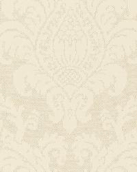 Schumacher Fabric Firenze Linen Damask Sesame Fabric