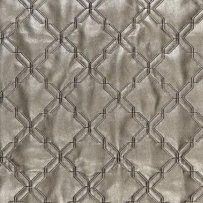 Schumacher Fabric WYOMING GUNMETAL Embossed Faux Leather