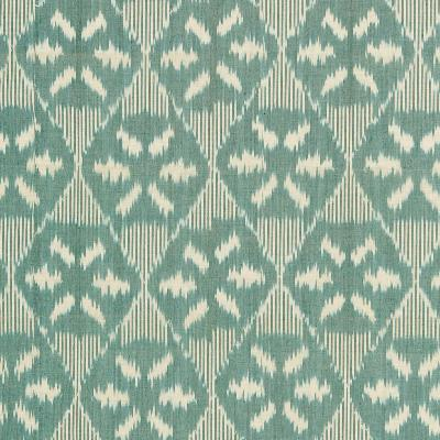 Schumacher Fabric DARJEELING COTTON IKAT PEACOCK Search Results