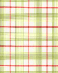Schumacher Fabric St. Lucia Plaid Lime Fabric