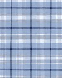 Schumacher Fabric St. Lucia Plaid Cornflower Fabric