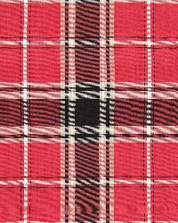 Schumacher Fabric Alexander Tartan Rouge Fabric
