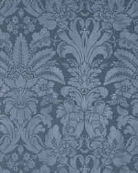 Schumacher Fabric Colette Indigo Fabric