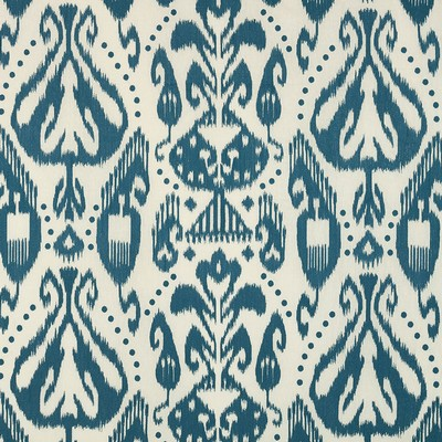 Schumacher Fabric KIVA EMBROIDERED IKAT LAPIS Search Results