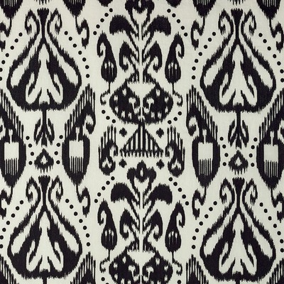 Schumacher Fabric KIVA EMBROIDERED IKAT RAVEN Search Results