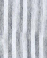 Schumacher Fabric Tori Stripe Navy Fabric