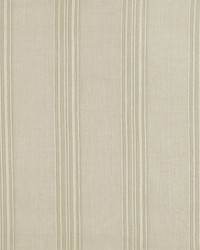 Schumacher Fabric Banded Stripe Oyster Fabric