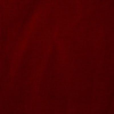 Schumacher Fabric VENETIAN SILK VELVET RUBY Silk Velvet Fabric