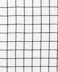 Schumacher Fabric Agnes Sheer Blackwork Fabric