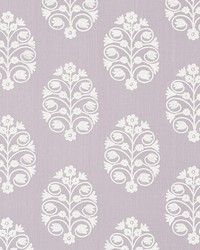 Schumacher Fabric Talitha Embroidery Wisteria Fabric