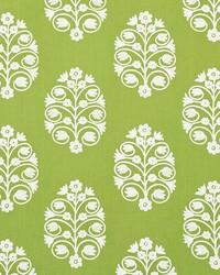 Schumacher Fabric Talitha Embroidery Leaf Fabric