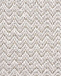 Schumacher Fabric Bargello Wave Natural Fabric