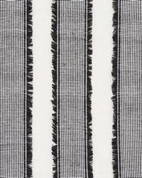 Schumacher Fabric Tulum Black Fabric