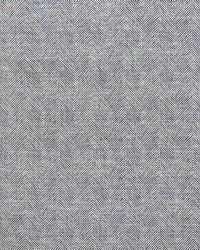 Schumacher Fabric Caro Herringbone Indigo Fabric