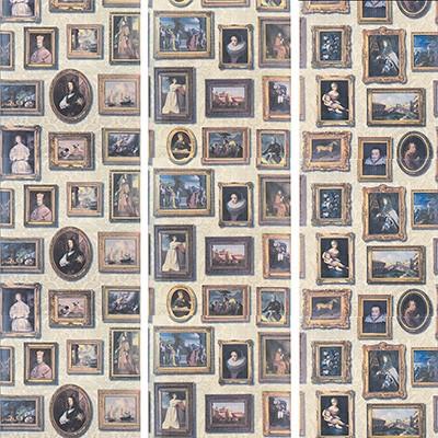 Kravet Wallcovering GALLERY NEUTRAL Andrew Martin Museum