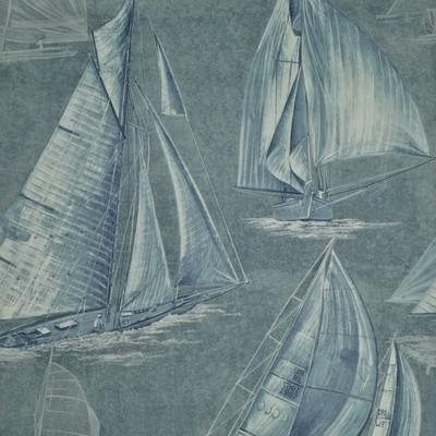 Ralph Lauren Wallpaper BOON ISLAND TOILE    ATLANTIC             Search Results