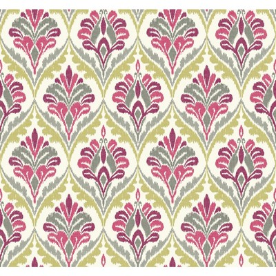 Carey Lind Modern Shapes Basilica Wallpaper off white, grey, yellow/green, magenta Search Results