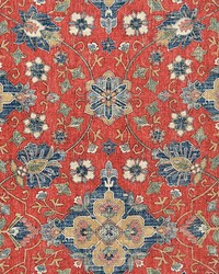 Magnolia Fabrics Anika Red Fabric