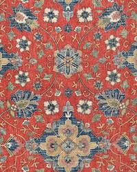 Magnolia Fabrics Anika Red Fabric