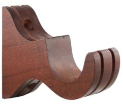 Vesta Wall Bracket TAGUS (medium) Shown in Mahogany Search Results