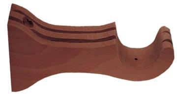 Vesta Wall Bracket TAGUS (long) Shown in Mahogany Search Results