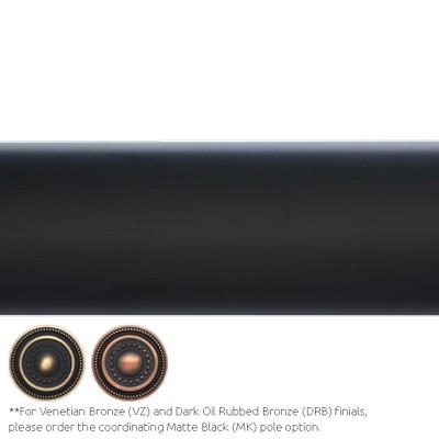 Finestra 8 Pole Matte Black Search Results