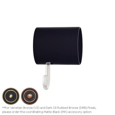 Finestra Finial Wall Mount Adaptor Matte Black Search Results
