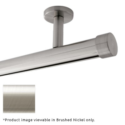 Finestra Single Rod Ceiling Mount Brushed Nickel Brushed Nickel Search Results