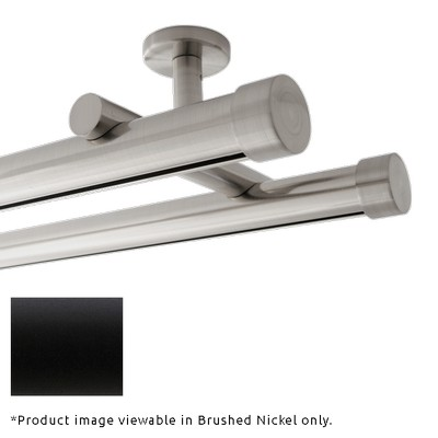 Finestra Double Rod Ceiling Mount Matte Black Search Results