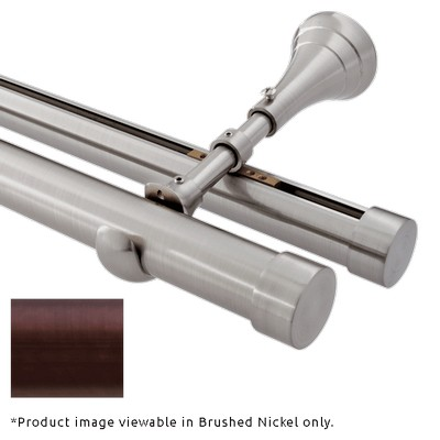Finestra Mixed Double Rod Wall Mount Oil Rubbed Bronze Oil Rubbed Bronze Search Results
