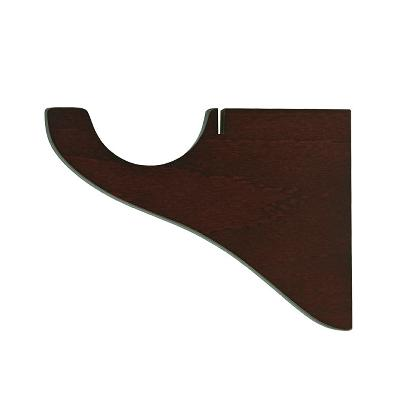 Finestra Single Bracket  Shown in Mahogany Search Results