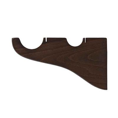 Finestra Double Bracket  Shown in Walnut Search Results