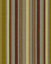 Robert Allen Villa Stripe Chutney Fabric