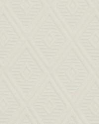 Robert Allen Diamond Tuft White Fabric