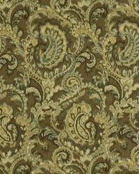 Robert Allen Faded Swirls Chocolate Fabric