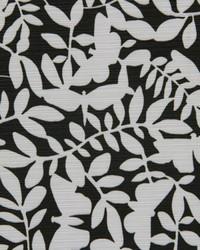 Robert Allen Laurel Topiary 502-ebony Fabric