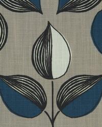 Robert Allen Triple Leaf 501-aquamarine Fabric